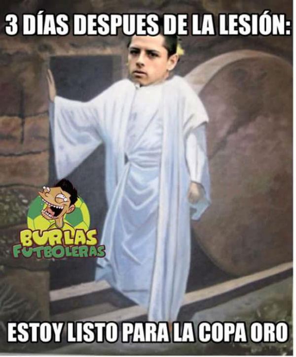 Los memes más divertidos de la lesión de Chicharito