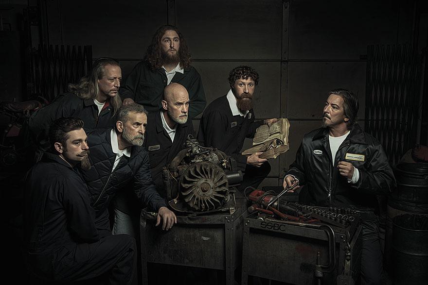 Mecánicos recrean pinturas del Renacimiento | Actualidad | Album | W ...