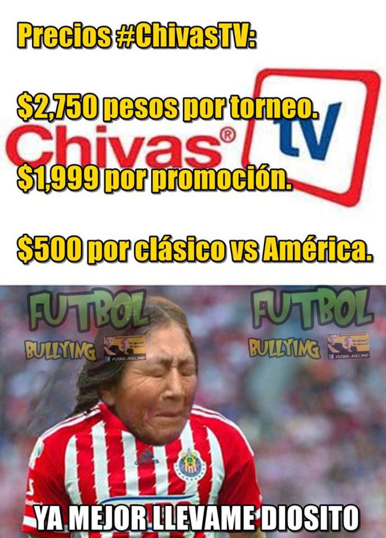 Los Memes Más Chistosos Del Comienzo De Chivas Tv Fotogalería