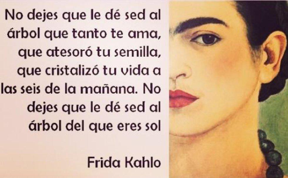 Las frases más famosas de Frida Kahlo   Fotogalería   album ...